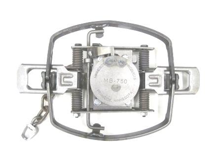 MB-750 Offset Beaver Coil Spring Trap #MB750OSBR